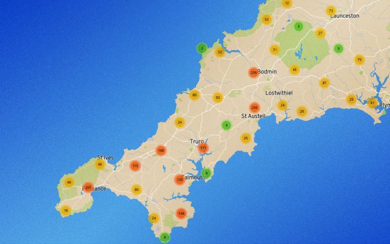 Akademi Kernewek map